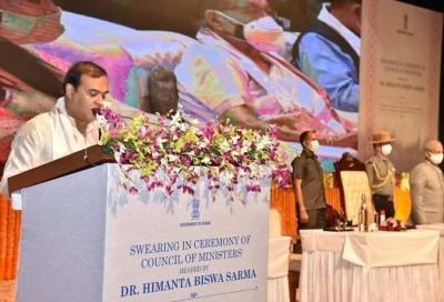 ಅಸ್ಸಾಂನ 15ನೇ ಮುಖ್ಯಮಂತ್ರಿಯಾಗಿ ಹಿಮಾಂತ ಬಿಸ್ವಾ ಶರ್ಮಾ ಪ್ರಮಾಣ ವಚನ ಸ್ವೀಕರ | ಜನತಾ ನ್ಯೂ&#